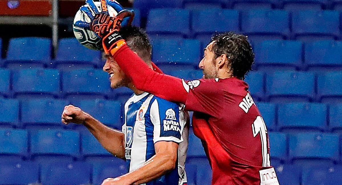 Bernardo Espinosa, jugador de Espanyol. Foto: EFE