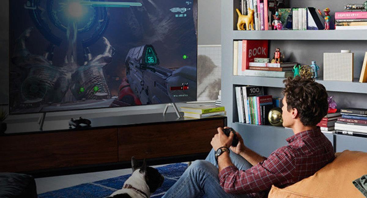 Los videojuegos se verán casi reales en un 'smart TV' QLED 8K