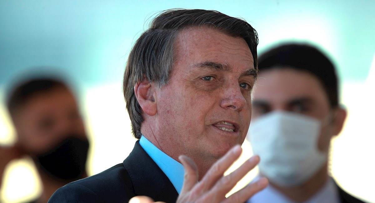 Jair Bolsonaro, presidente de Brasil. Foto: EFE
