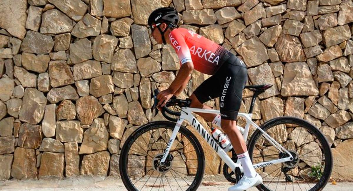 Nairo Quintana, ganador de la Vuelta a España y Giro de Italia. Foto: Prensa Arkea Samsic