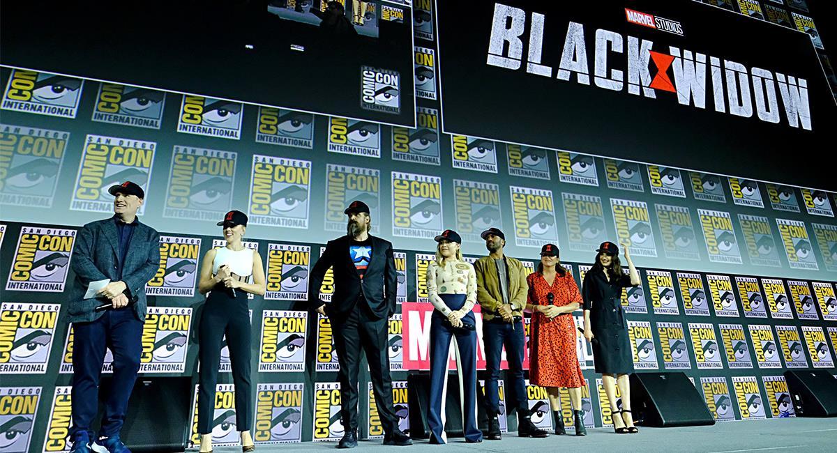 """Black Widow"" será la próxima película de Marvel Studios. Foto: Twitter @MarvelStudios"