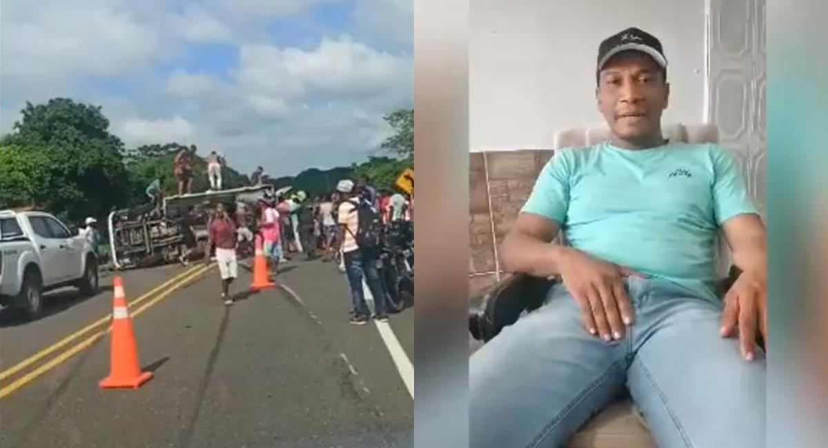 Colombianos podrán donar dinero a dueño de camión saqueado