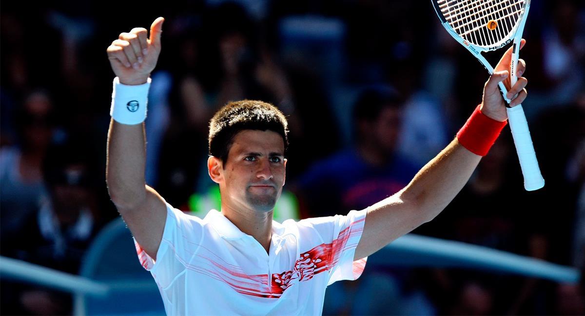 Djokovic realizó un torneo en el que resultó contagiado del coronavirus. Foto: EFE
