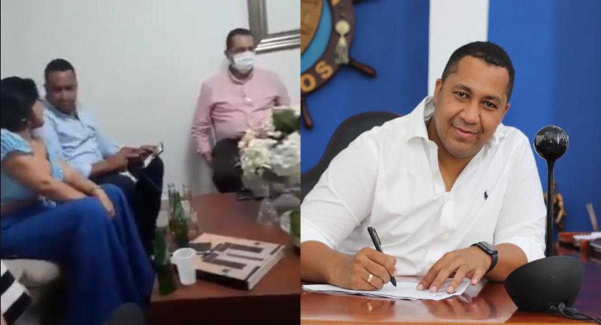 Video: Alcalde de Riohacha habría violado la cuarentena por ir a una fiesta