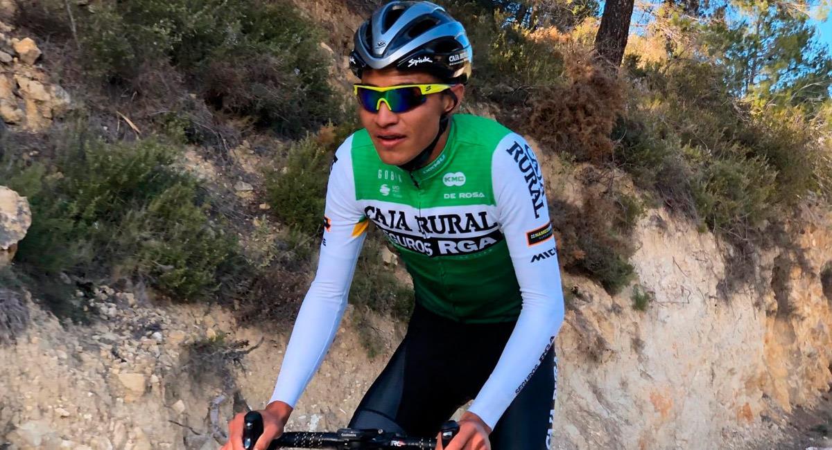 Otra perla colombiana busca brillar en equipo de ciclismo español