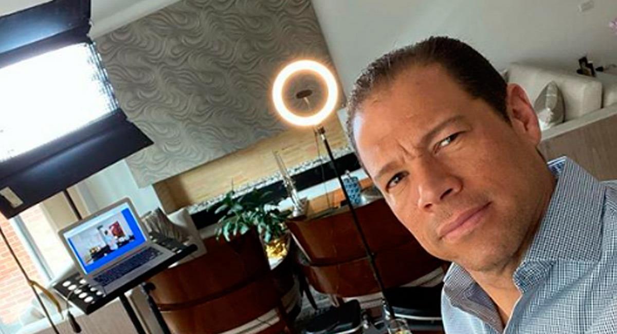Óscar Córdoba, hoy presentador en ESPN. Foto: Perfil Oficial Instagram @oscarcordoba_