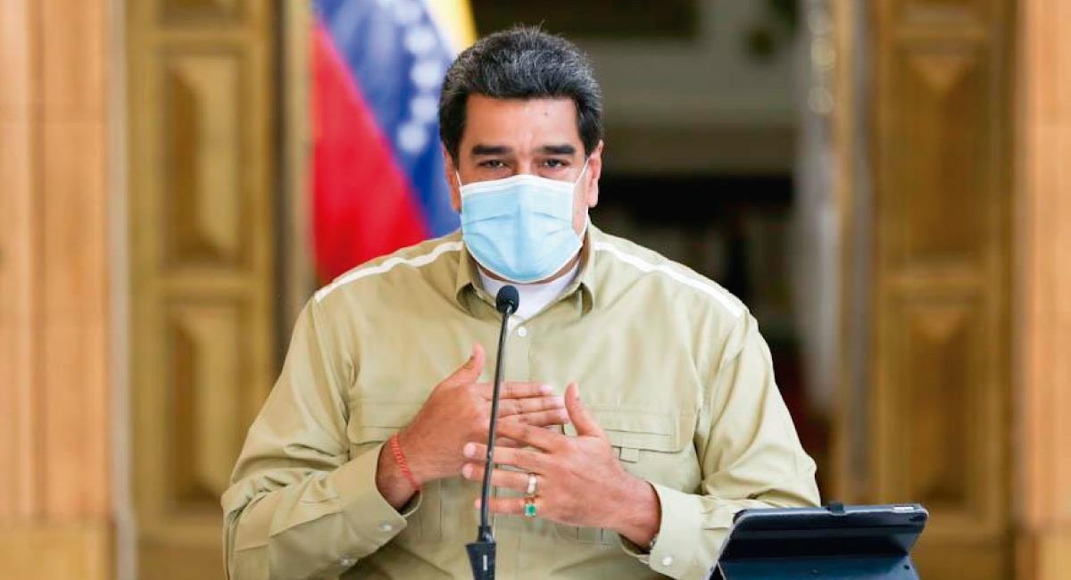 Maduro responsabiliza a Colombia. Foto: Twitter @NicolasMaduro