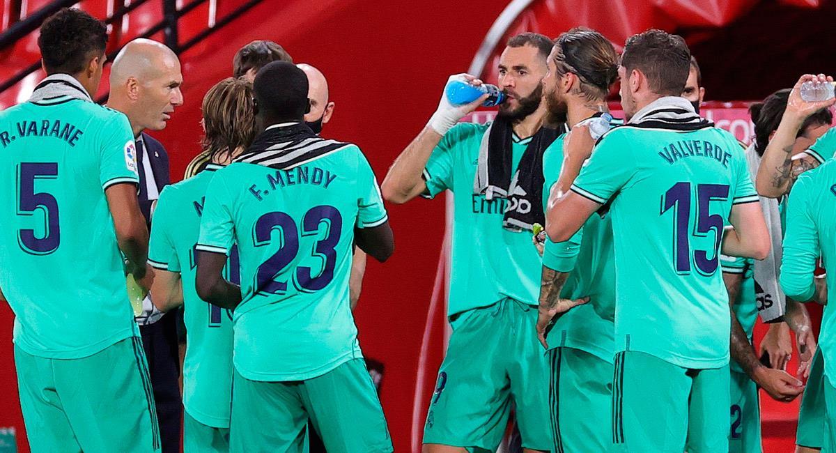 Real Madrid derrota a Granada en LaLiga. Foto: EFE