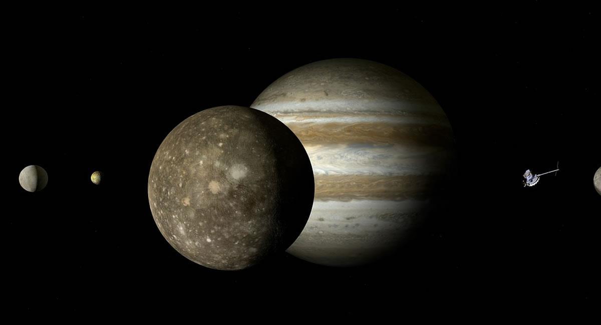 Júpiter y Saturno, tendrán su oposición planetaria este mes. Foto: Pixabay