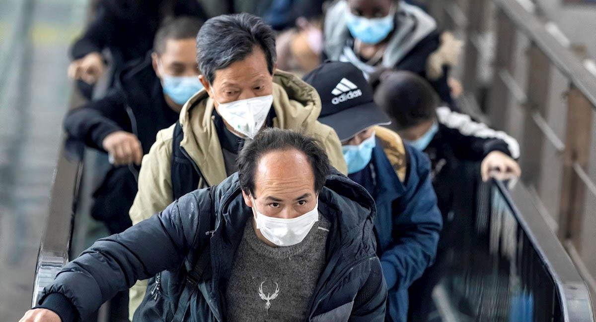 El coronavirus habría nacido en la ciudad de Wuhan, en China. Foto: EFE