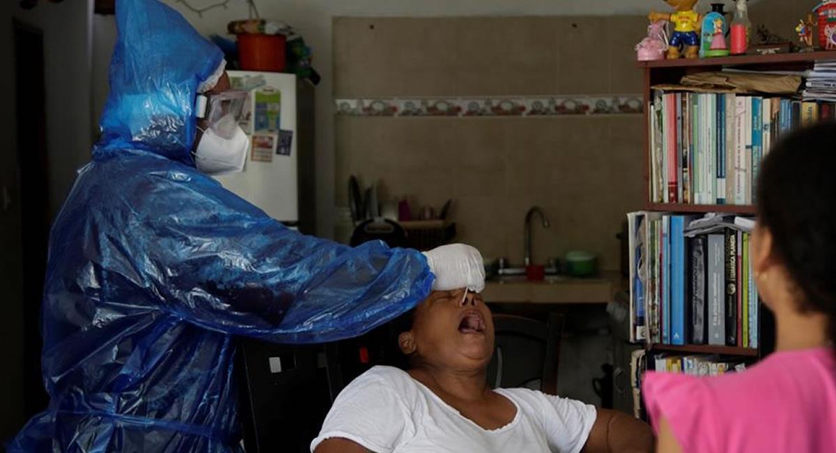 Este miércoles 15 de julio, fue el segundo día consecutivo en reportar más de 5.000 contagios confirmados. Foto: EFE