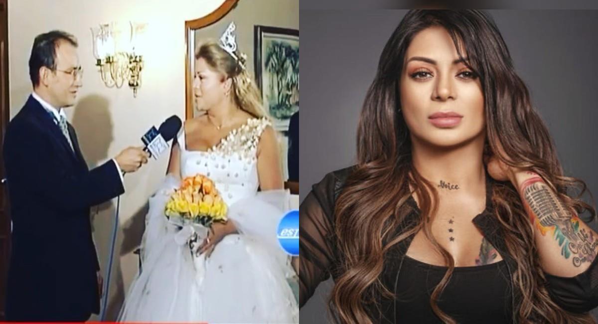 Su boda fue transmitida en vivo por la televisión nacional. Foto: Instagram