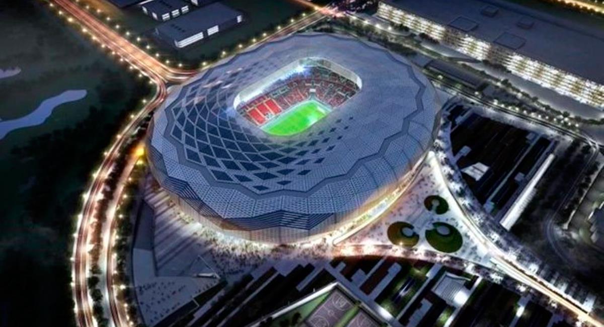 Así luce uno de los estadios del Mundial Qatar 2022. Foto: Prensa Mundial Qatar 2022