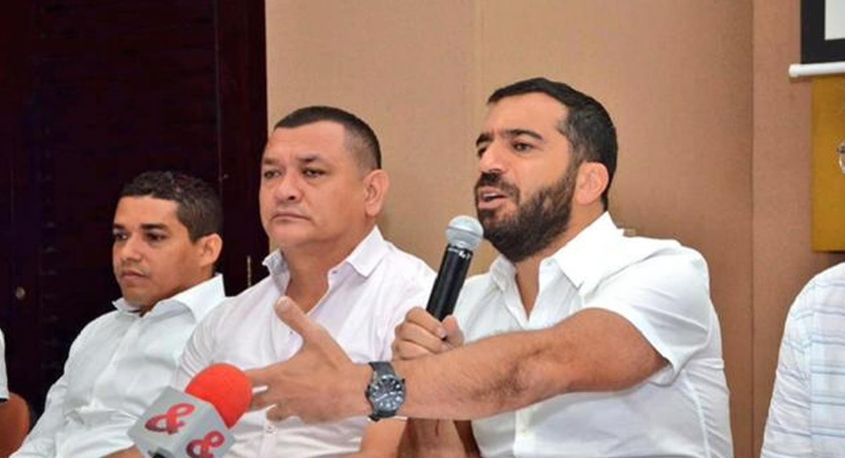 A pesar de toda la polémica, Char parece tener todo el respaldo de sus pares políticos. Foto: Twitter @Arturo_Char.