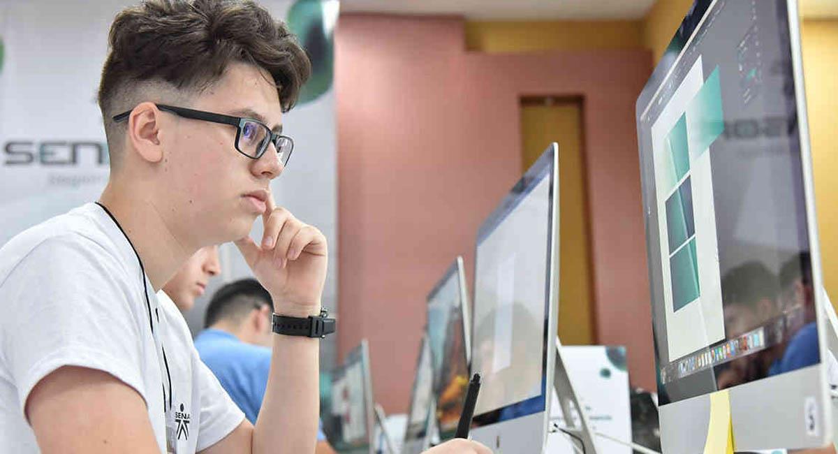 La educación virtual es una oportunidad para aprovechar tu tiempo libre en cuarentena. Foto: Twitter  / @SENAComunica