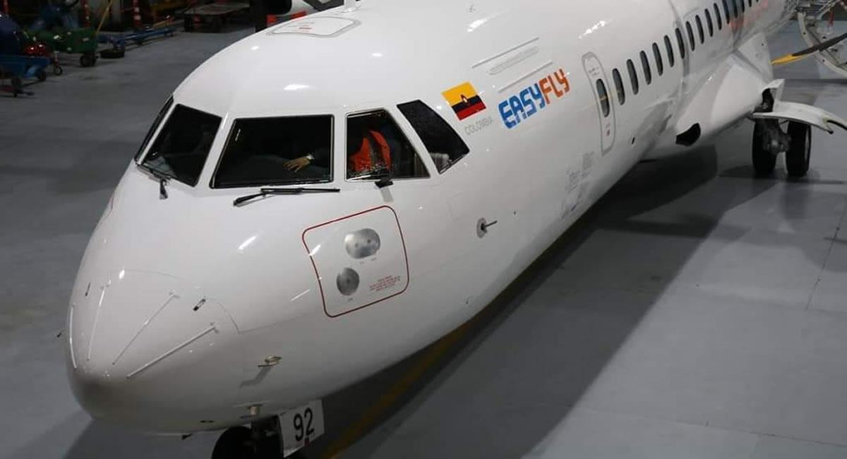 Este piloto sería trascendental para la 'reapertura' de viajes nacionales. Foto: Twitter @Easyfly