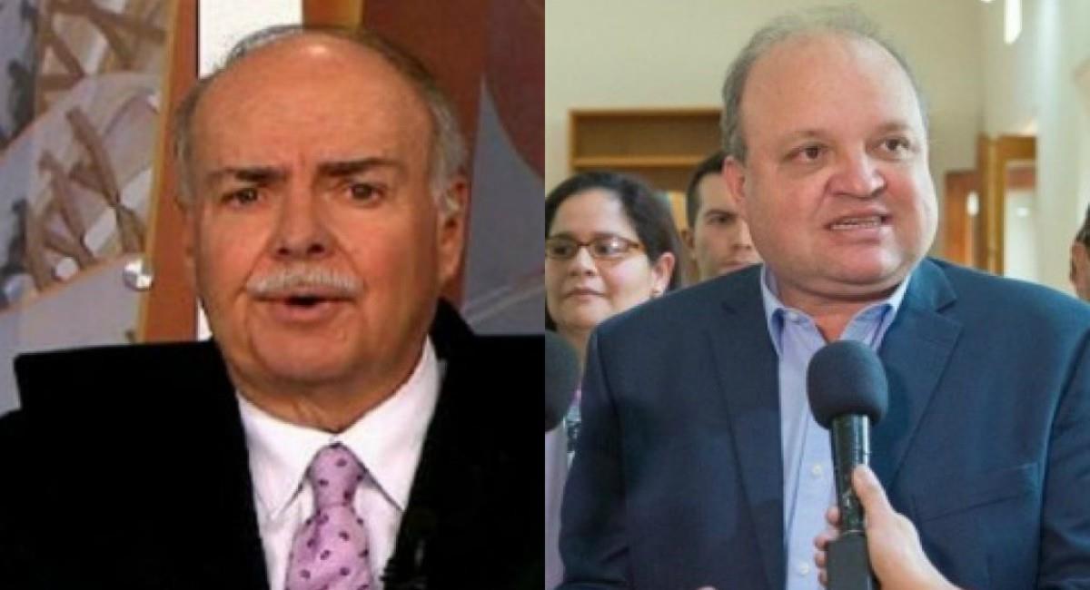 Iván Mejía contra Jorge Vélez. Foto: Twitter Prensa redes Iván Mejía y Dimayor.