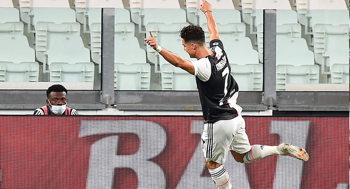 Cristiano Ronaldo cumple un nuevo récord. Foto: EFE