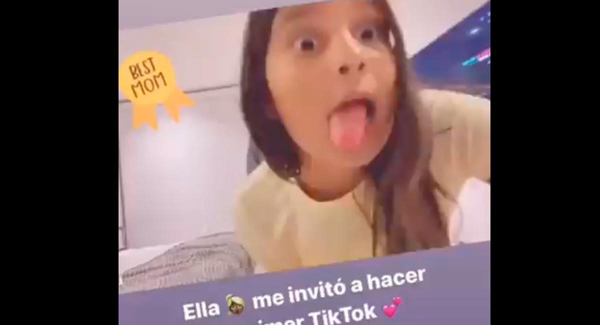 Danna Guarín, hija del futbolista, Fredy Guarín. Foto: Perfil oficial Instagram @andreinafiallo