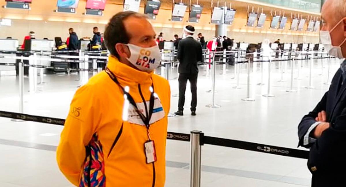 Ernesto Lucena, Ministro del Deporte en Colombia. Foto: Perfil twitter @MinDeporteCol