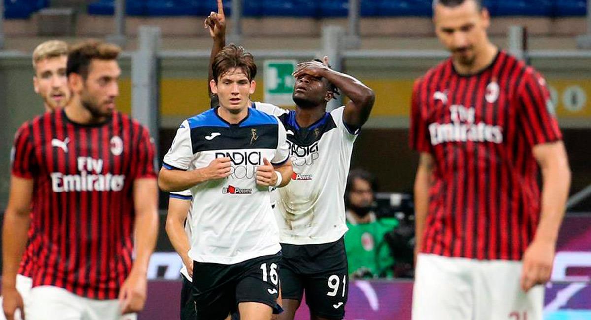 Duván Zapata llegó a 18 goles con Atalanta. Foto: EFE
