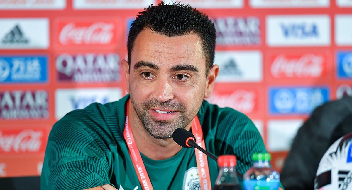 Xavi Hernández actualmente en el fútbol de Qatar. Foto: EFE