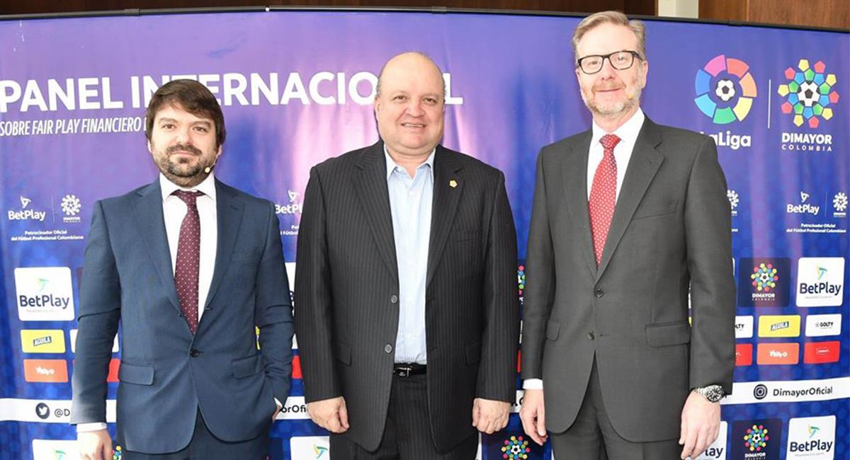 Jorge Enrique Vélez fue el presidente de Dimayor por dos años. Foto: Facebook @DimayorOficial