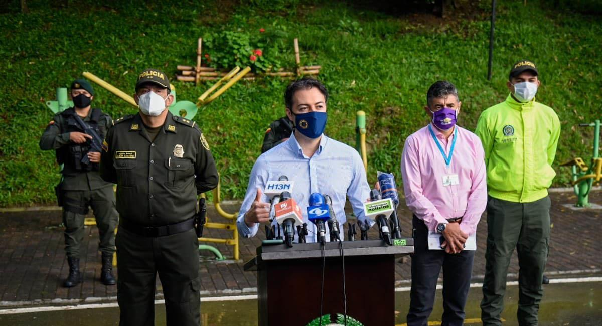 Medellín: Alcalde Daniel Quintero dio positivo para coronavirus