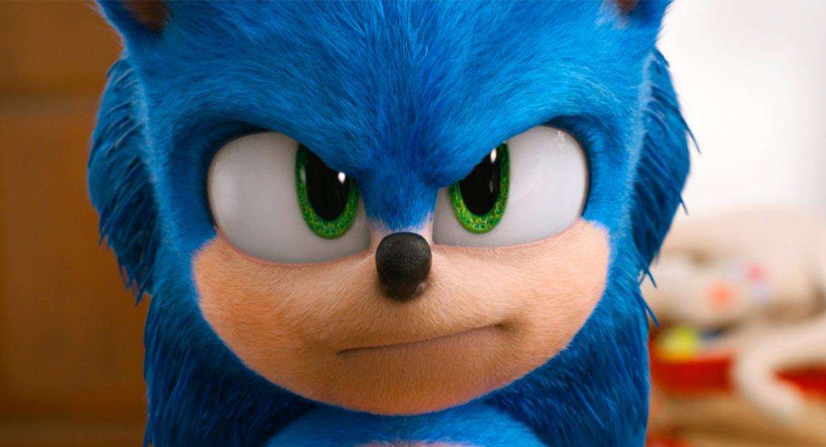 """""""Sonic"""" fue bien recibida por la crítica y los fanáticos del cine. Foto: Twitter @SonicMovie"""