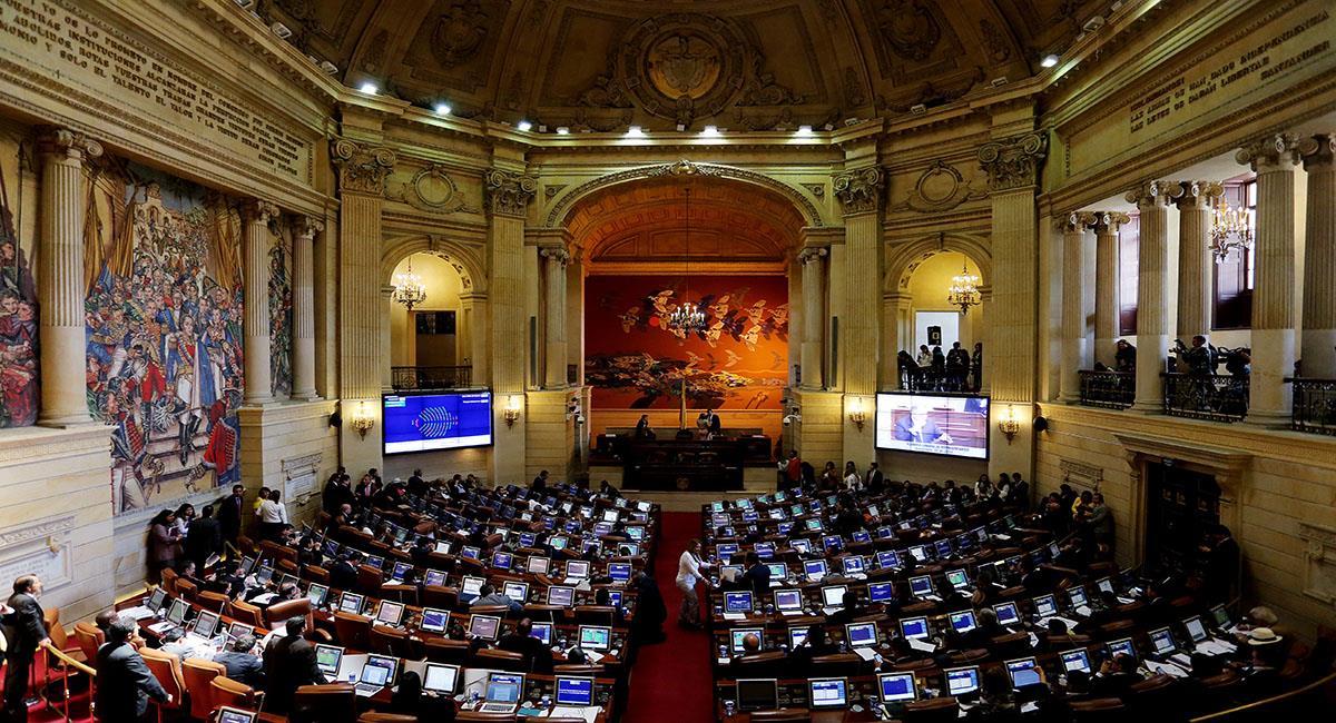 El Congreso de Colombia cuenta con uno de los salarios más altos de Latinoamérica. Foto: EFE