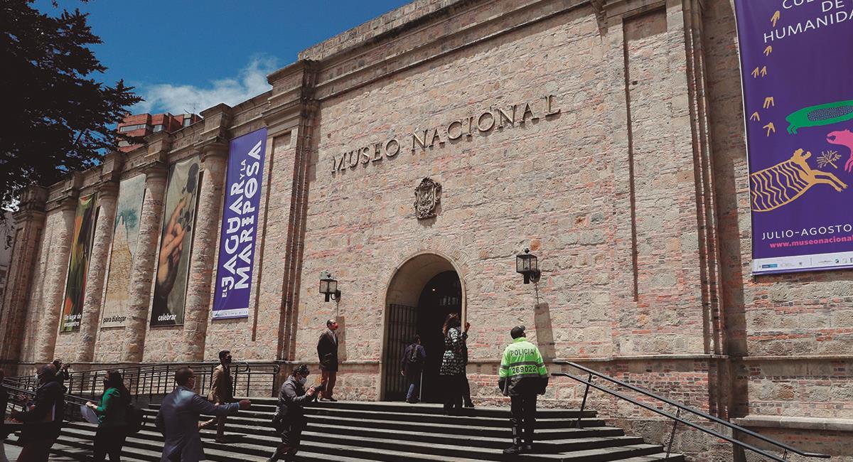 Museo Nacional de Colombia. Foto: EFE