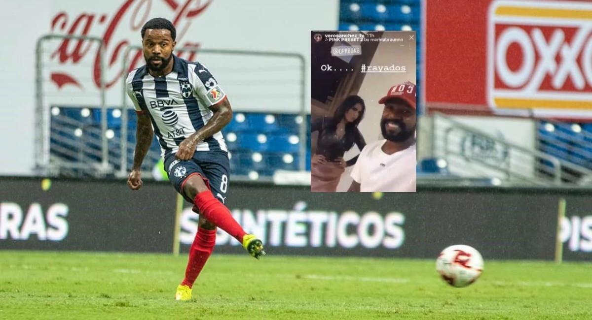 Dorlan Pabón metido en escándalo en el fútbol mexicano. Foto: Instagram Prensa redes Dorlan Pabón.