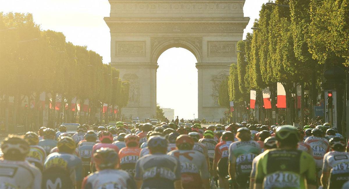El Tour de Francia tuvo que ser retrasado por la pandemia del coronavirus. Foto: Twitter @letour_es