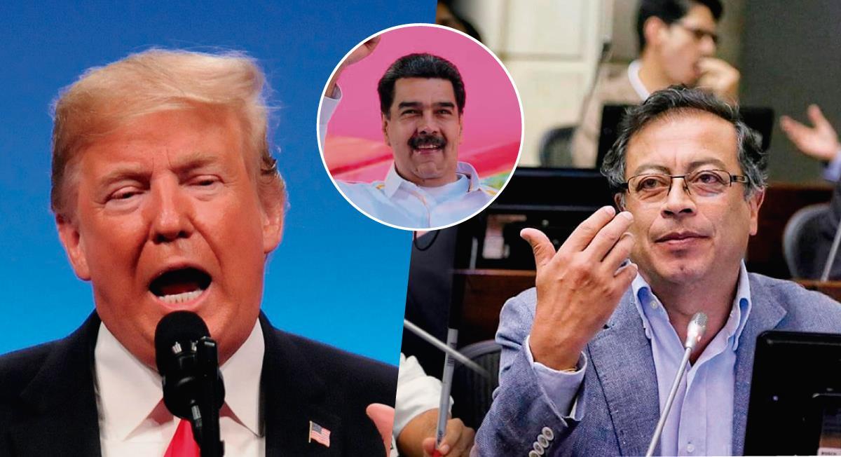 Video de Donald Trump sobre Gustavo Petro. Foto: Twitter @IApacuana/@IndyGPOne/@Raspon3