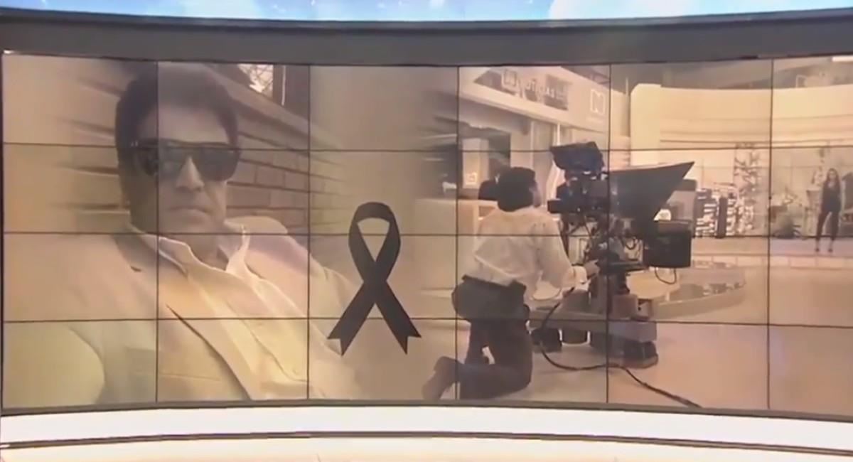 Varios canales nacionales le rindieron homenaje. Foto: Twitter