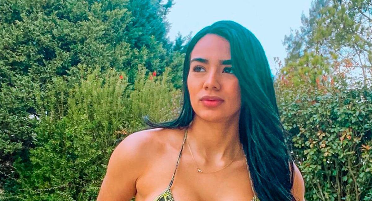 Daniela Cortés en su última foto que publicó. Foto: Instagram @danicortesms