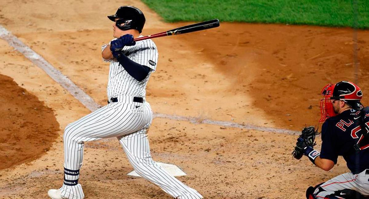 Gio Urshela, colombiano en la MLB con los New York Yankees. Foto: EFE