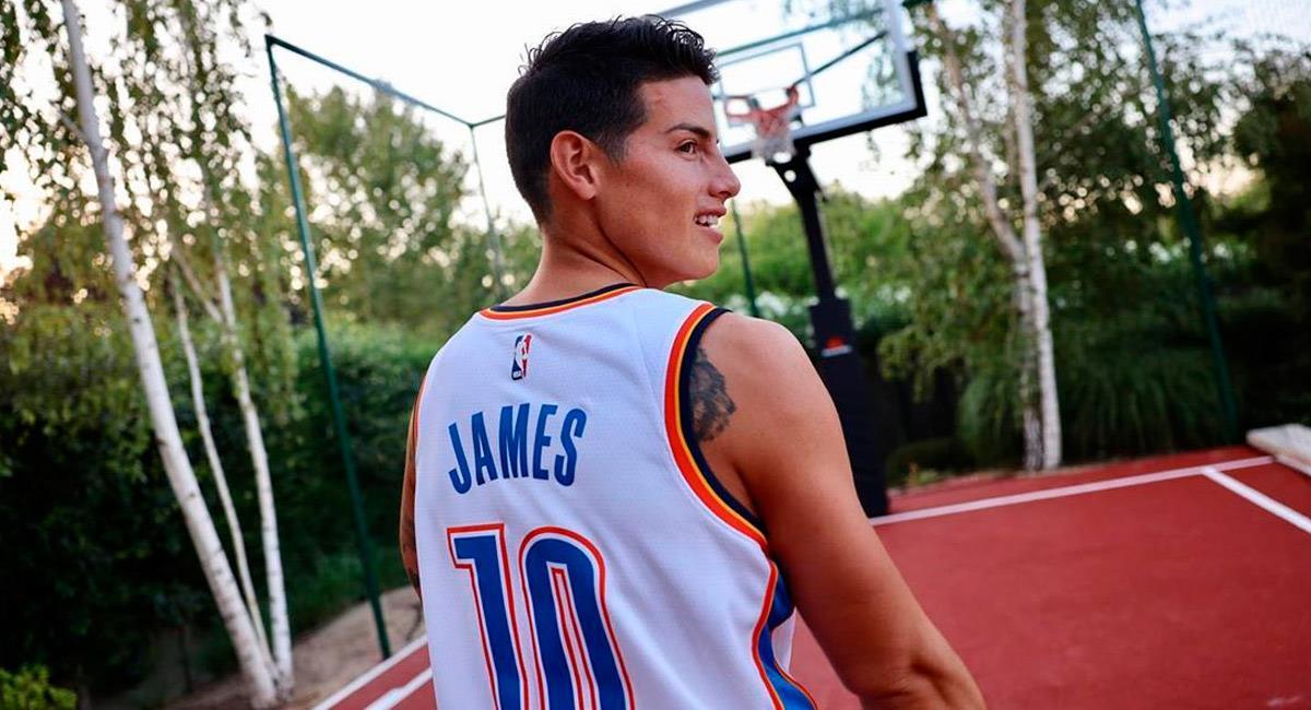 James Rodríguez podría seguir en la capital de España. Foto: Instagram @jamesrodriguez10