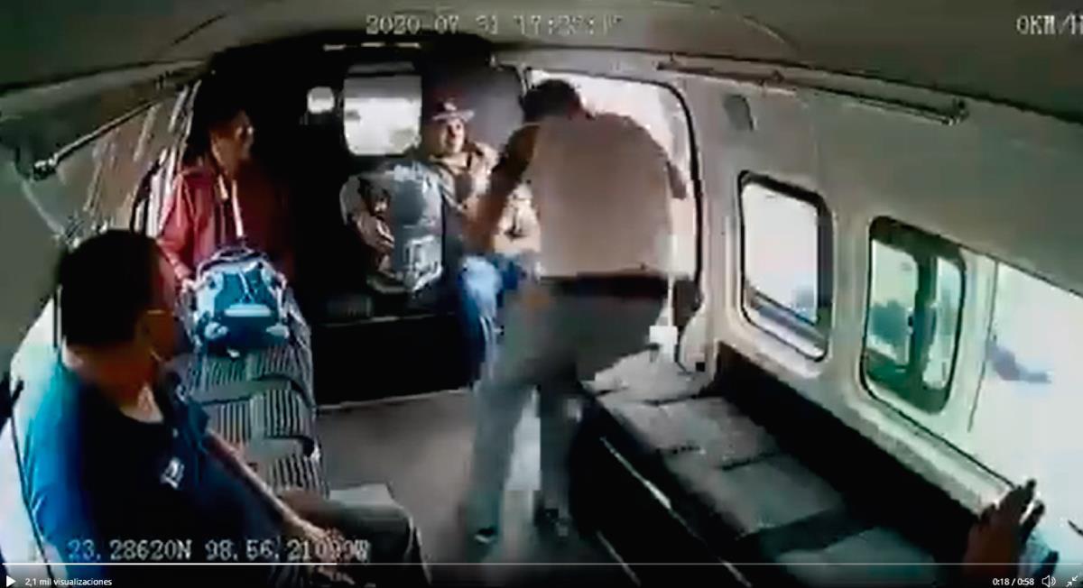 Los hechos se registraron el pasado 31 de julio. Foto: Twitter Captura de video @OscarTJ11
