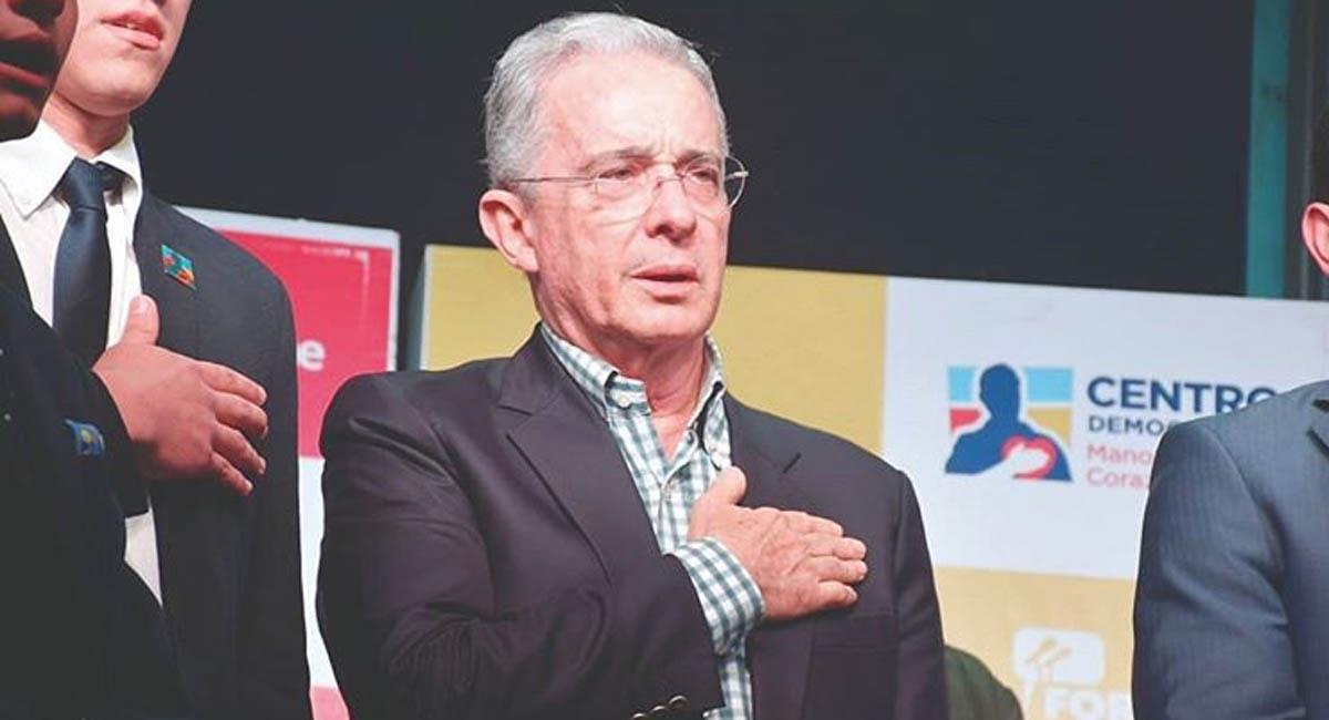 Álvaro Uribe, expresidente de Colombia (2002-2010). Foto: Instagram / @alvarouribevelez