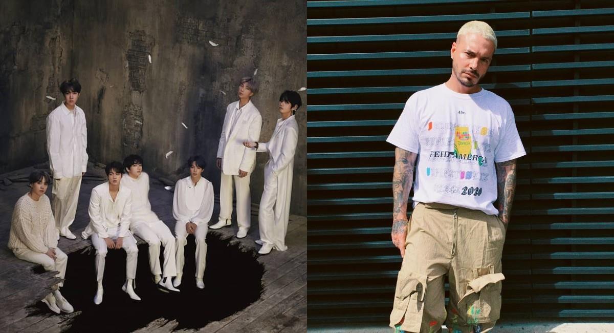 BTS y J Balvin se preparan para los premios MTV Video Music Awards