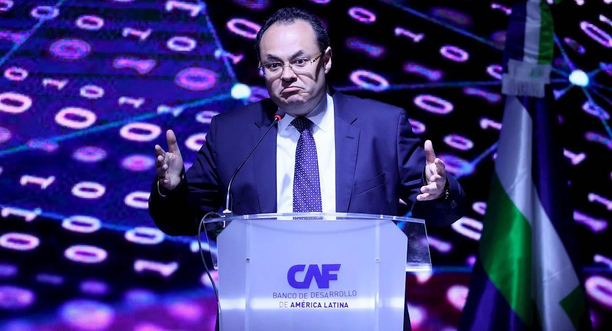 Presidente ejecutivo del CAF, Luis Carranza Ugarte. Foto: EFE