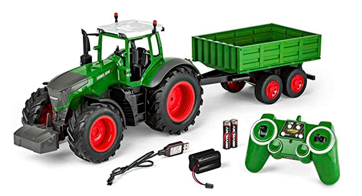 Tractores a escala ya son una realidad. Foto: Difusión