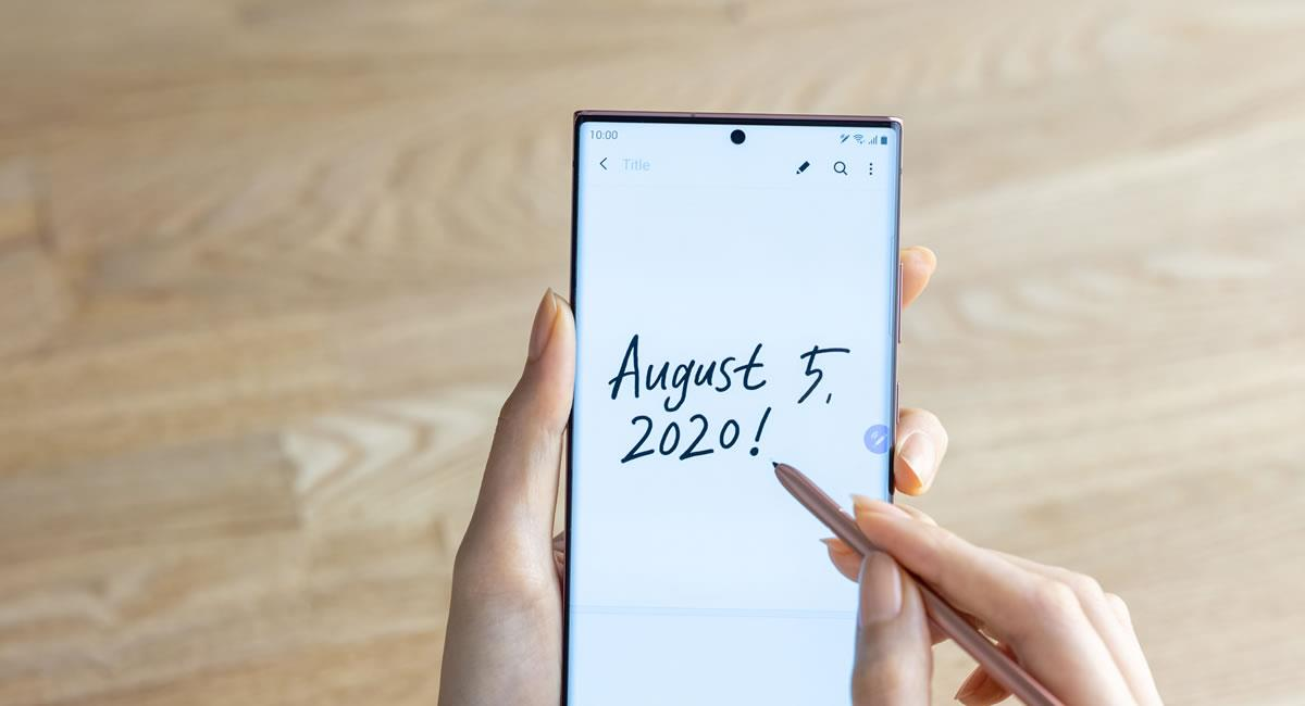 Se espera que las nuevas referencias de la serie Galaxy Note llegarán el próximo 21 de agosto. Foto: Samsung