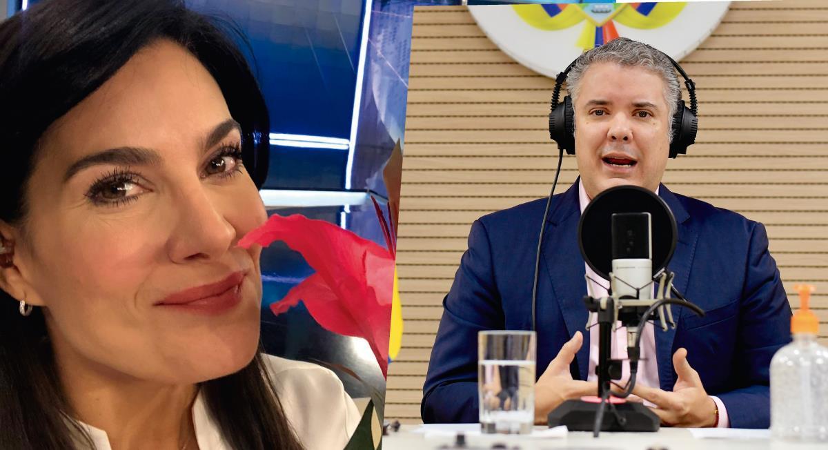 Aplauden a Vanessa de la Torre por 'regañar' a Iván Duque durante entrevista