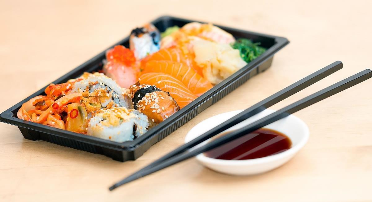 El sushi se ha convertido en una deliciosa opción para los capitalinos, quienes lo ponene entre los favoritos. Foto: Pixabay