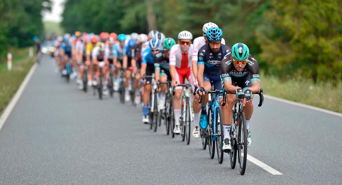 Así se llevó a cabo la segunda etapa de la Vuelta a Polonia. Foto: Twitter @Tour_de_Pologne