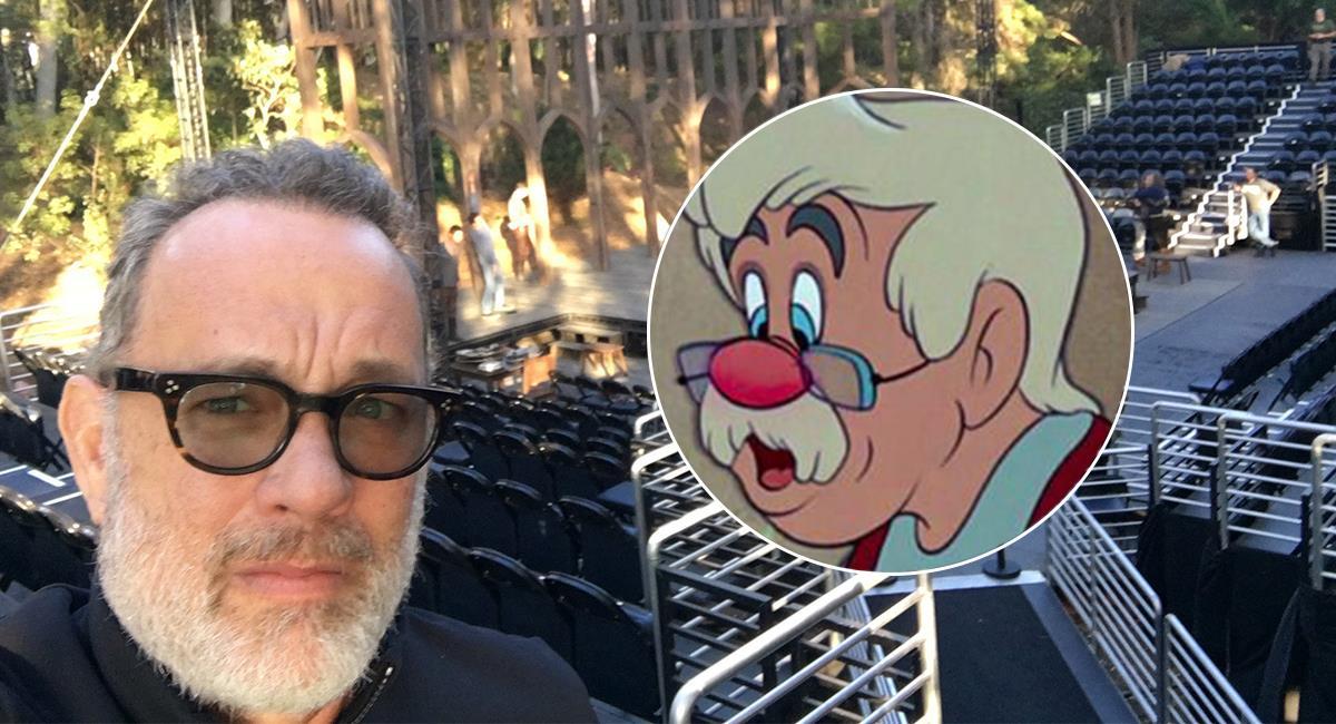 Tom Hanks estaría interesado en interpretar a Geppetto. Foto: Twitter @tomhanks/ @Disney