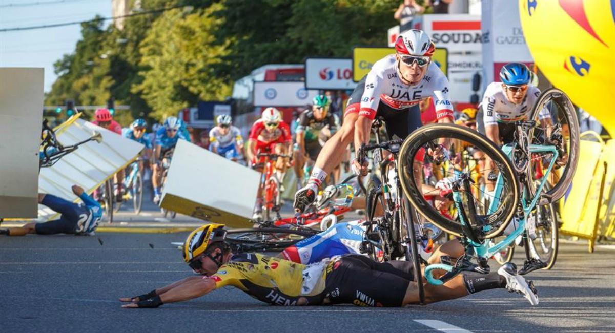 Fabio Jakobsen despertó del coma. Foto: EFE