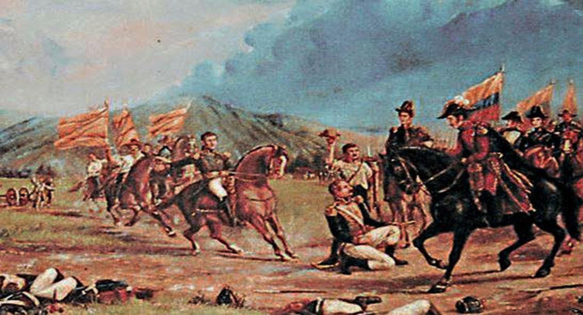 Las batallas de independencia de la patria han sido plasmadas como muestra del valor de sus hijos. Foto: Facebook /HISTORIA.COM